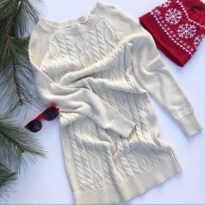 Old Navy Long Cable Knit Sweater